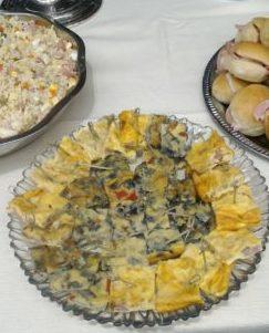 frittate vegetariane Roma catering