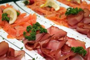 salmone carpaccio