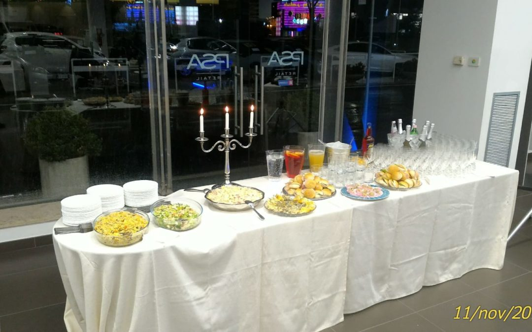 buffet catering peugeot