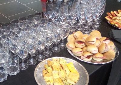 buffet servizio catering coffe break tavola concessionaria auto roma