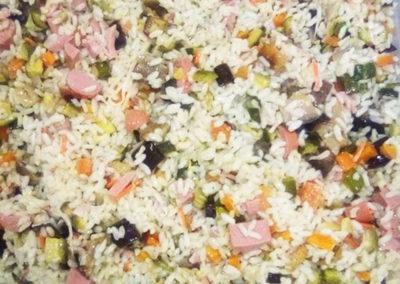 insalata di riso catering buffet roma